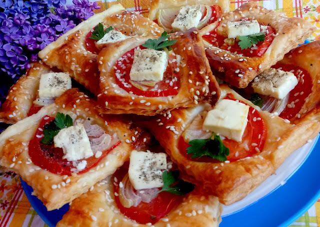 Feta i ciasto francuskie