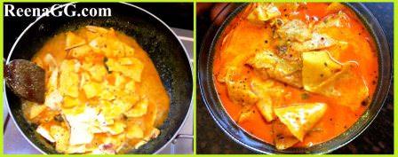 Papad Aloo Sabzi Recipe