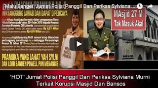 Sylviana Murni Malu Bangat Terkait Korupsi Masjid Dan Bansos Sylviana Murni Malu Bangat Terkait Korupsi Masjid Dan Bansos