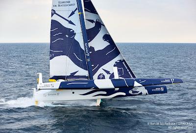 Gitana 17, skippé par Seb Josse sur la prochaine Route du Rhum.