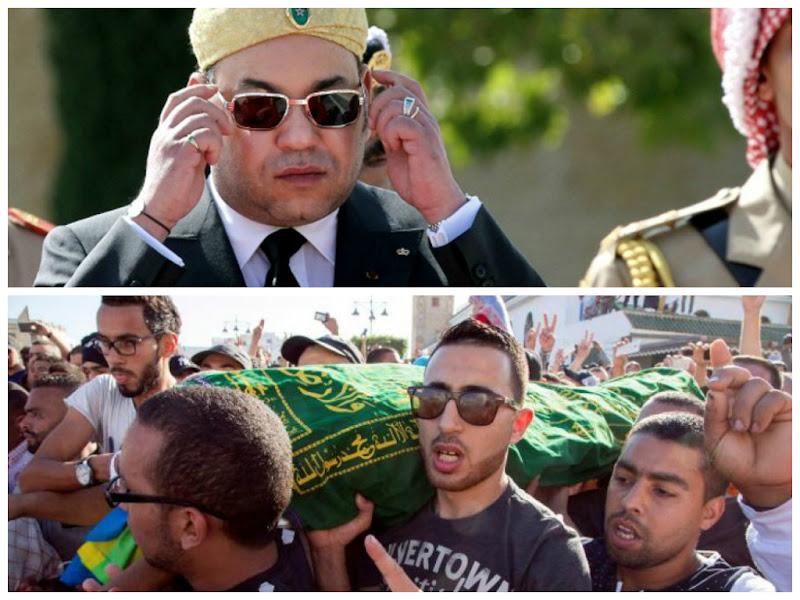 Mohammed VI promet de lourdes sanctions contre les responsables de la mort de Mohcine Fikri