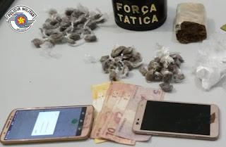 Polícia Militar prende traficantes em Cajati