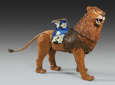 lion léonard de vinci