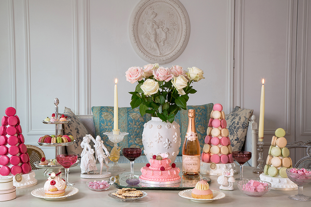 image result for Paris Christmas romantic decorated interior Laduree