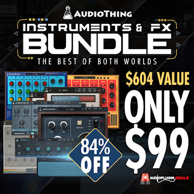 audio plugins deal