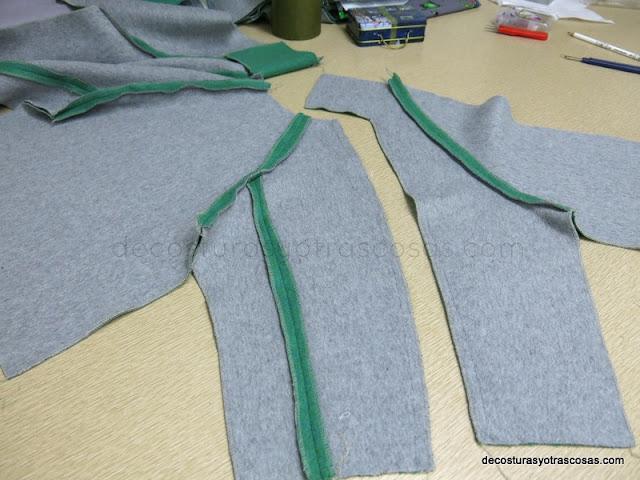 como coser manga ranglan