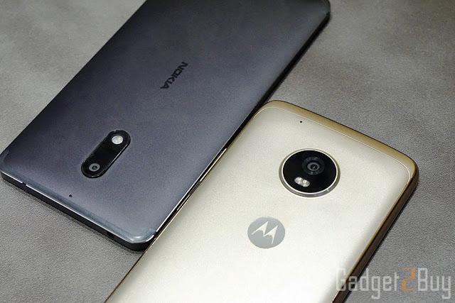 Nokia 6 vs Moto G5 Plus: