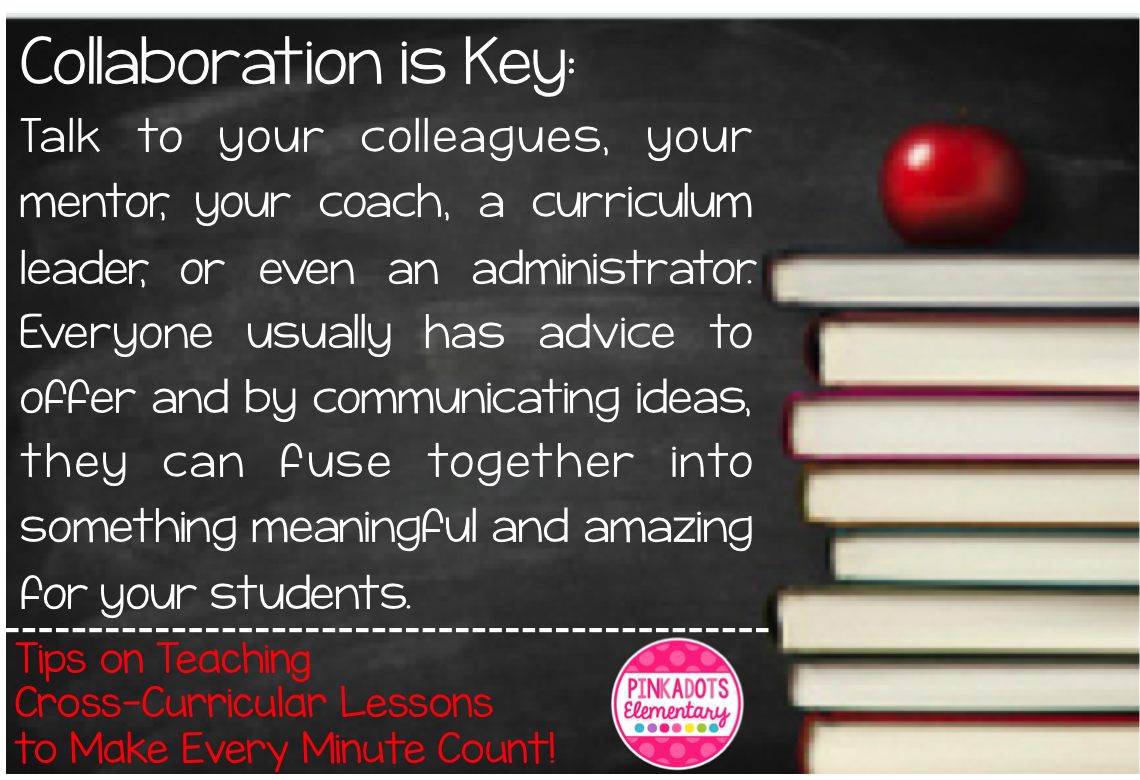 Pinkadots Elementary Tips on Teaching CrossCurricular Lessons to – Cross Curricular Lesson Plans Elementary