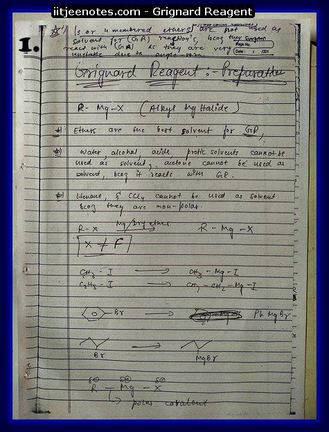 Grignard Reagent 1