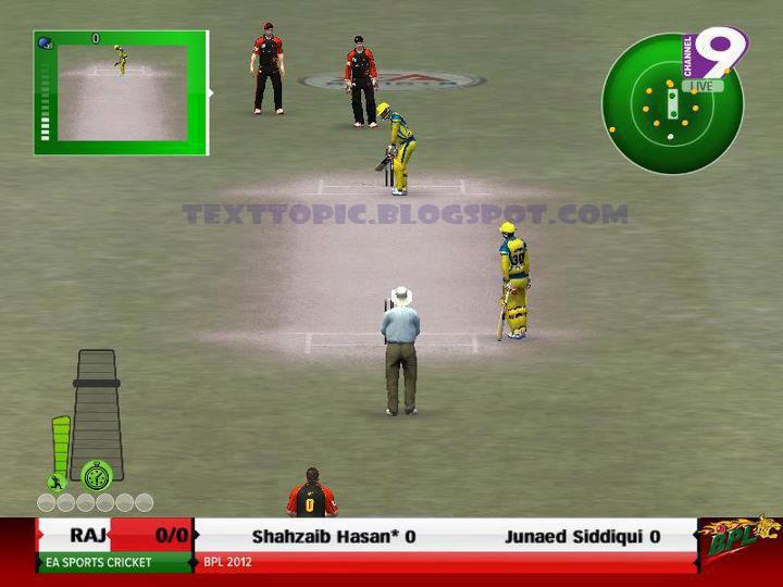bpl cricket games free