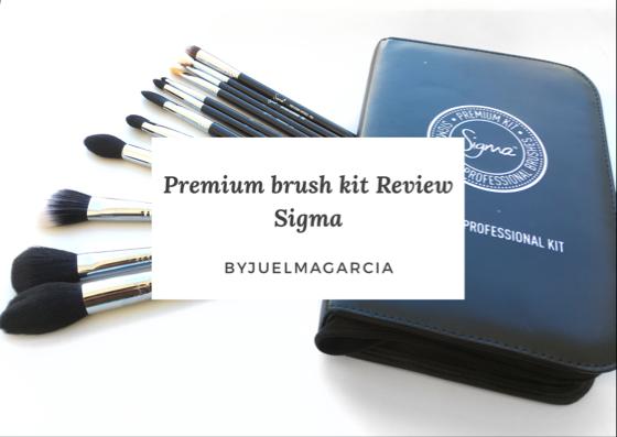 Pinceis Sigma Premium Kit