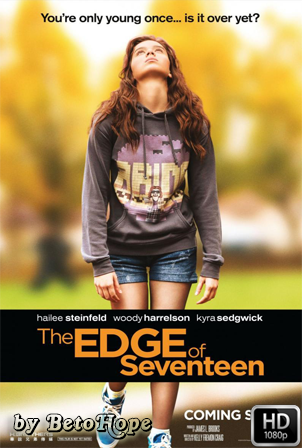 The Edge of Seventeen 1080p Latino