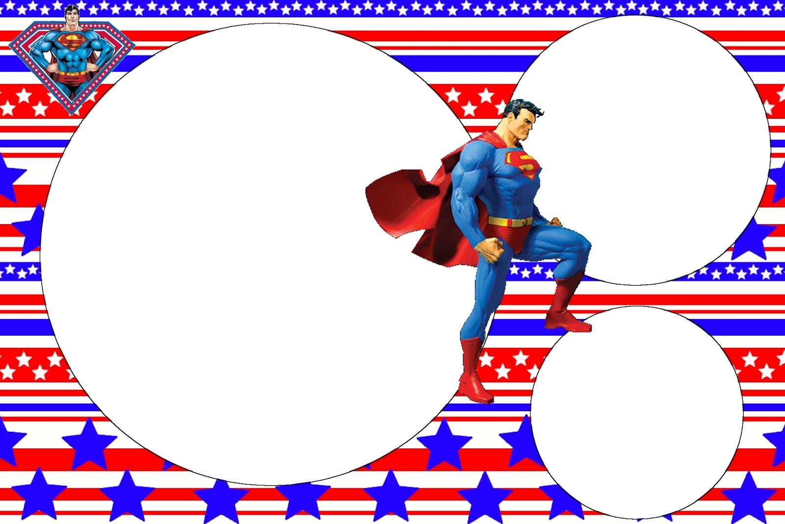 Superman Free Printable Invitations Oh My Fiesta In