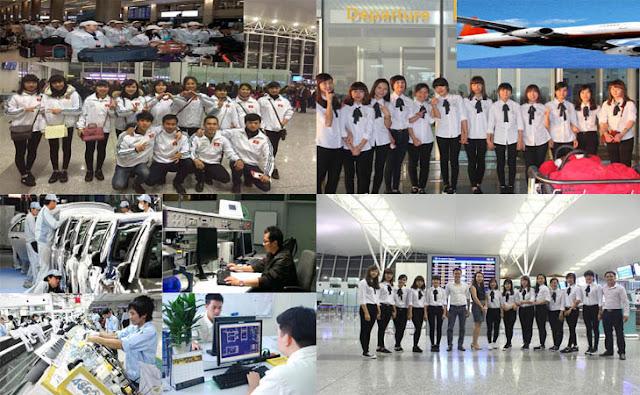Tổng hợp đơn hàng đi xuất khẩu lao động Nhật Bản lương cao