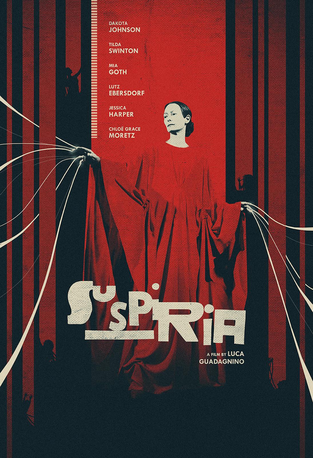 Capa do Filme Suspíria: A Dança do Medo