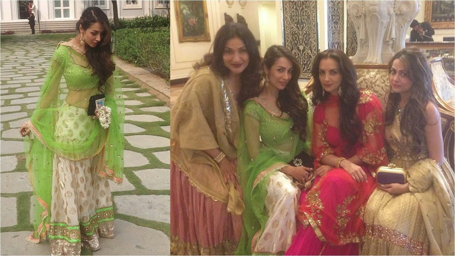 Malaika Arora Khan at Arpita's Wedding