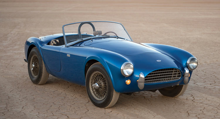 The Very First Shelby Cobra Up For Auction At Monterey [60 Pics + Video]