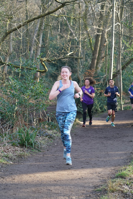 female runner parkrun