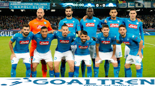 Napoli dominated the game from the early minutes and went ahead with a Lorenzo Insigne goal in the 21st minute