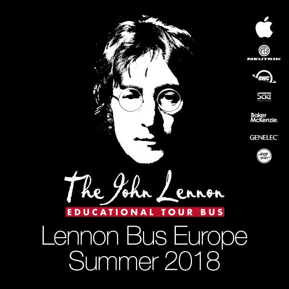 Tournée estivale 2018 du Lennon Bus Europe