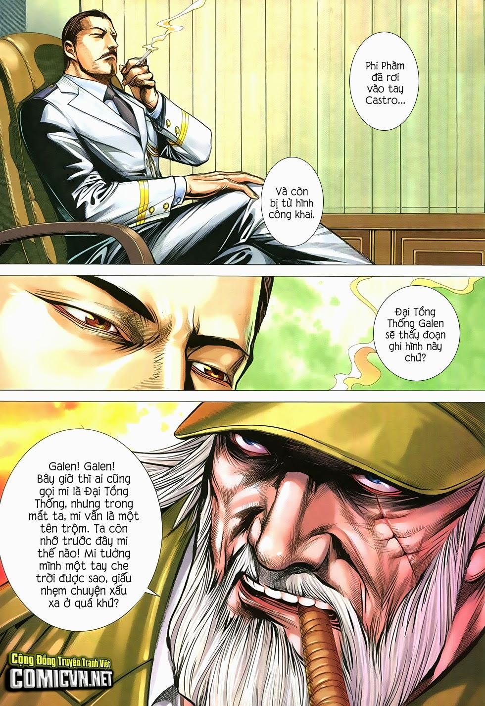 Đại Quân Phiệt chap 12 trang 13