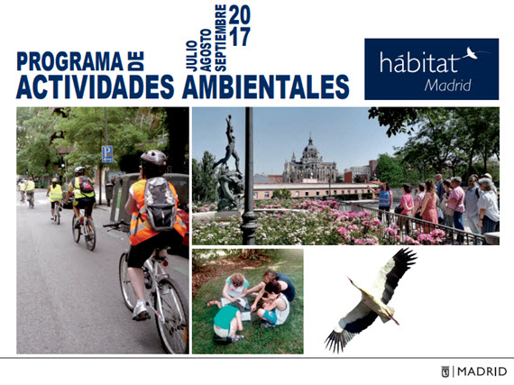 Programa H Bitat Madrid Actividades Ambientales Julio