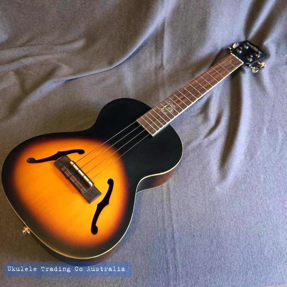 kala ka jte 2ts arch top tenor ukulele rrp 495 demo ukulele sale 450 posted to your door. Black Bedroom Furniture Sets. Home Design Ideas