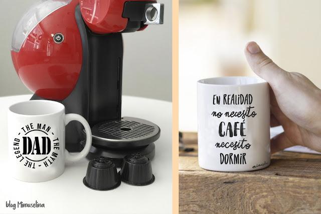 regalo día del padre blog mimuselina taza papa hombre mito leyenda necesito dormir no café