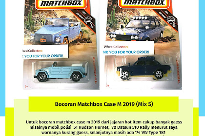 Bocoran Matchbox Case M 2019 (Mix 5)