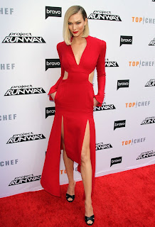 Karlie Kloss At Bravos Top Chef and Project Runway Event in LA
