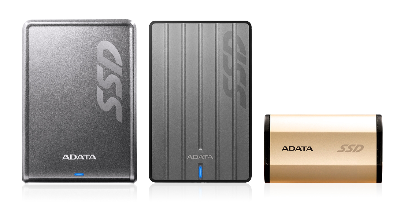 ADATA SE730, SC660 and SV620 External Solid State Drives