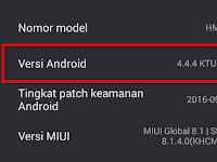 Cara Mengetahui Versi SO Android di HP Xiaomi
