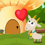 Games4king Cute Goat Resc…