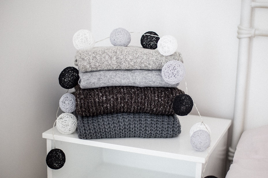 Grube swetery