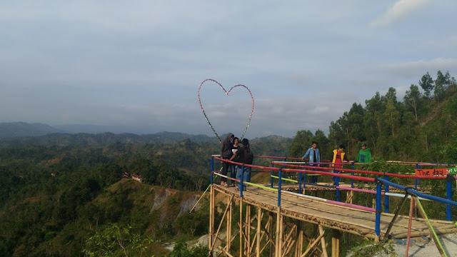 Bukit Icika (Igir Cempaka) di Banjarnegara Siap Sambut Wisatawan