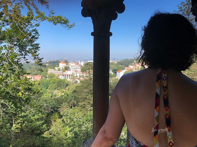 Vistas desde los balcones del Palacio
