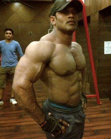 world bodybuilders pictures indian muscles man prashant