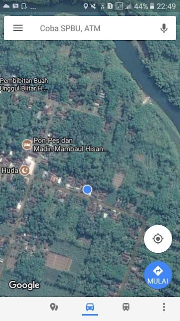 Google Bisnis Omah Iwak Badher Bang tidak muncul di Google Map