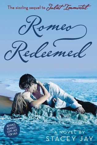 """News: Divulgada a capa de """"Romeo Redeemed"""" , de Stacey Jay. 8"""