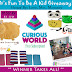 It's Fun To Be A Kid Giveaway! Over $130 in Prizes!