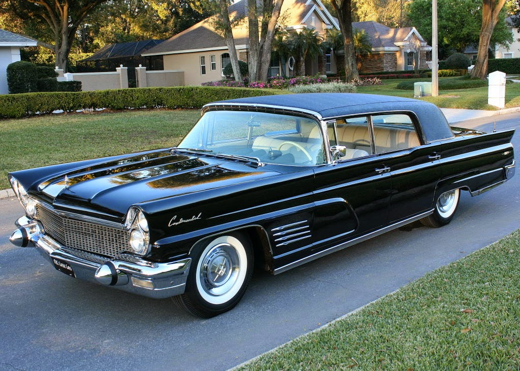 All American Classic Cars 1960 Lincoln Continental Mark V 4 Door