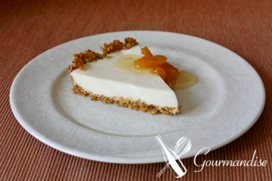 Torta de granola e kefir