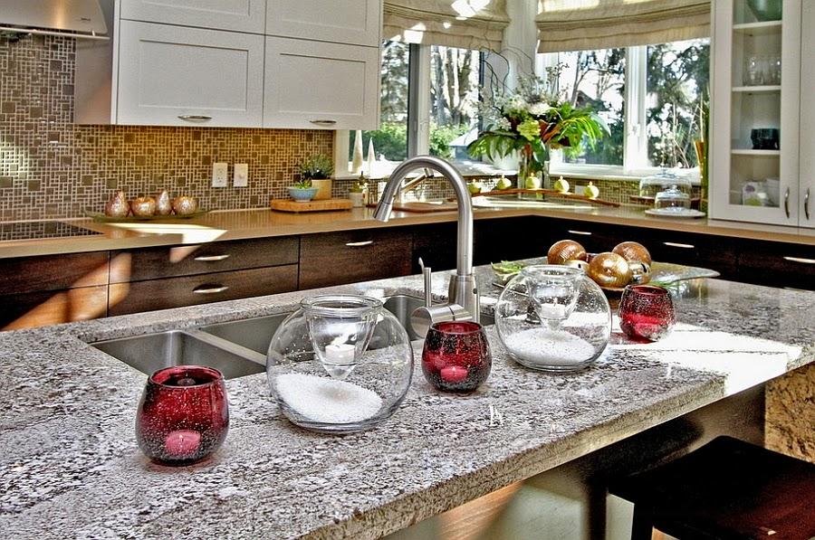 Natal na cozinha design innova - How to decorate your kitchen ...