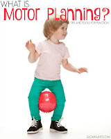What is motor planning activity for kids