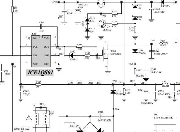 electr u00f3nica y pc  descargar diagrama fuente conmutada 05ta071a psu lcd tv