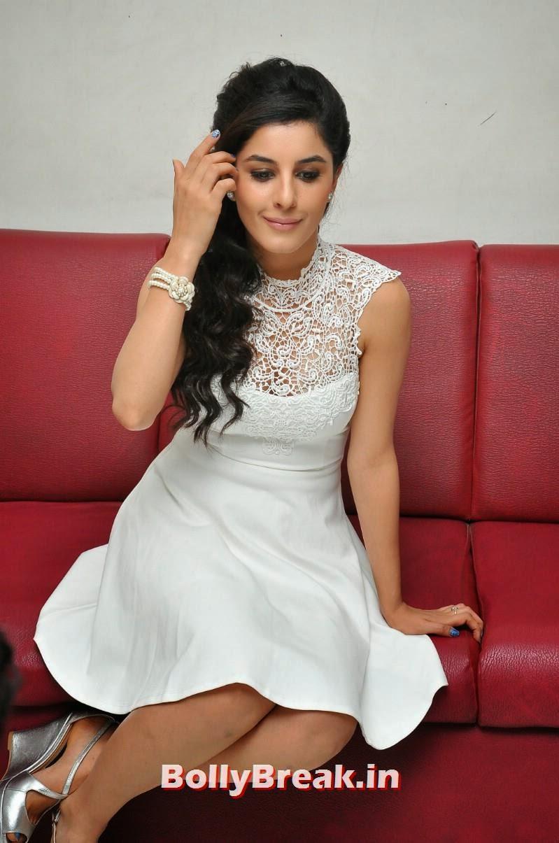 55, Isha Talwar Latest Photoshoot Pics in White Dress