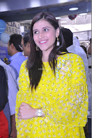 Mannara Chopra Looks Cute in Yellow Salwar Suit ~  Exclusive 20.JPG