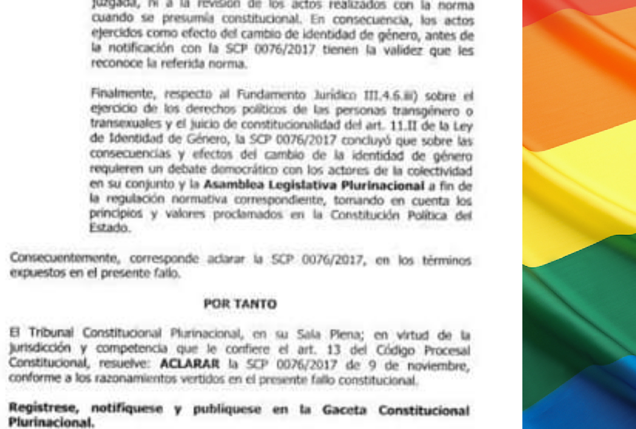 La extensa aclaración vuelve a dejar vacíos interpretativos a la Ley de Identidad de Género