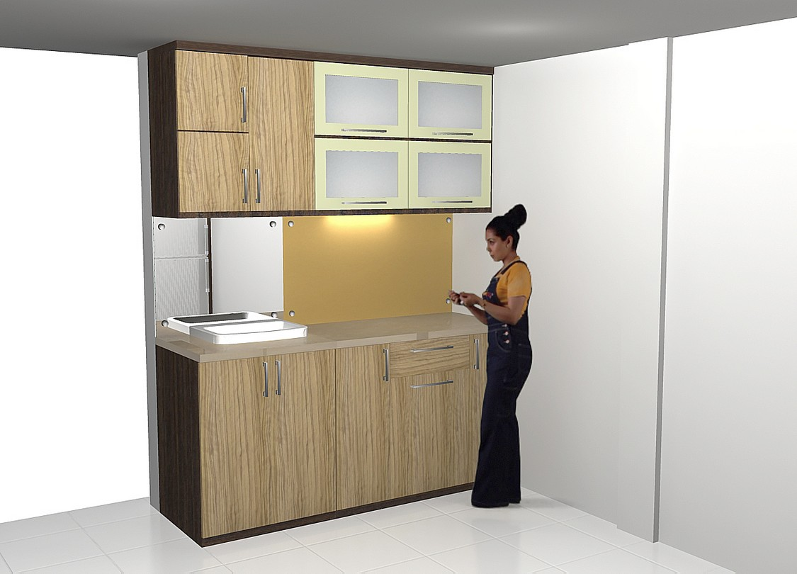Design Interior Dapur Kering  Gambar Desain Rumah Minimalis