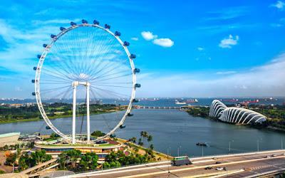 Singapore Flyer -tripswheel